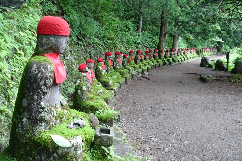 Văn hóa Nhật Bản - Vườn tượng Địa Tạng